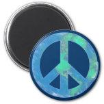 Ímã do sinal de paz da terra imãs de geladeira