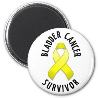 Ímã do sobrevivente de câncer da bexiga ímã redondo 5.08cm