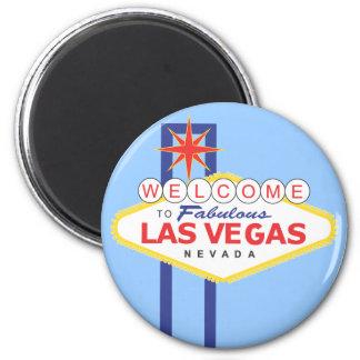 Ímã do viagem das férias de Las Vegas Nevada Imãs De Geladeira