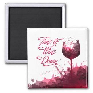 Imã Do vinho ímã para baixo
