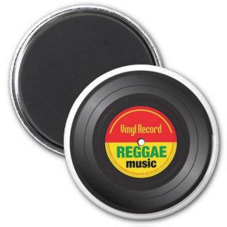 Ímã do vinil 45 da reggae imã