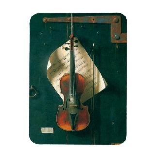 Ímã Do violino vida velha ainda por Harnett, belas