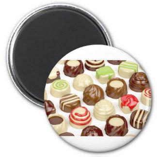 Imã Doces de chocolate