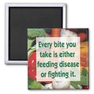 Imã Doença de alimentação ou luta das citações