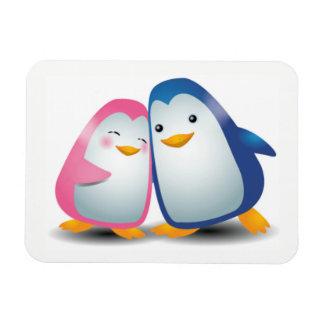 Ímã Dois pinguins