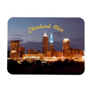 Ímã dos azuis de Cleveland Ohio (curvados)