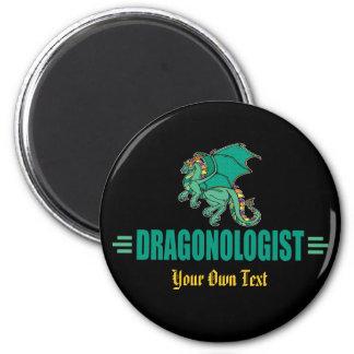 Imã Dragão verde engraçado