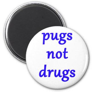 Imã drogas dos pugs não