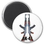 Ímã duplo das espingardas de assalto de AK47 Imã
