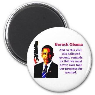 Imã E assim esta visita - Barack Obama