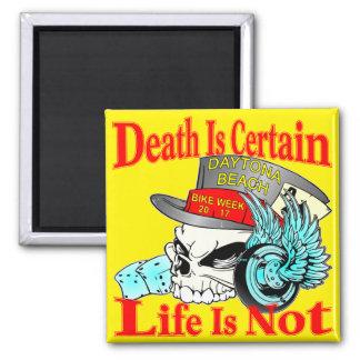 Imã É certo que a morte que a vida não é crânio do