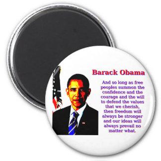 Imã E contanto que povos livres - Barack Obama