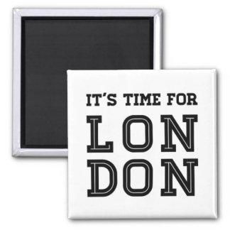 Imã É hora para Londres