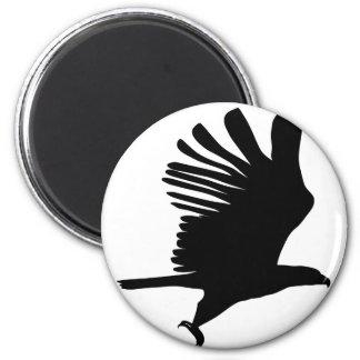 Imã Eagle em vôo