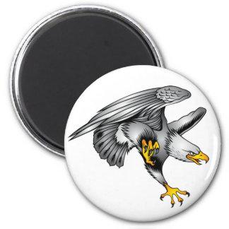 Imã Eagle - padrão, ímã redondo da polegada de 2 ¼