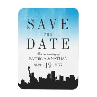 Ímã Economias do casamento de New York a data