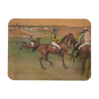 Ímã Edgar Degas - cavalos de raça