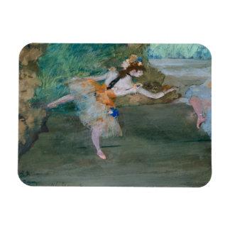 Ímã Edgar Degas - dançarino em palco