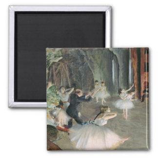 Imã Edgar Degas | o ensaio do balé no palco