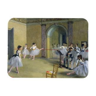 Ímã Edgar Degas | o vestíbulo da dança na ópera