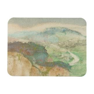 Ímã Edgar Degas - paisagem