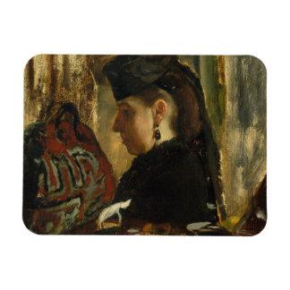 Ímã Edgar Degas - senhorita Marie Dihau (1843-1935)