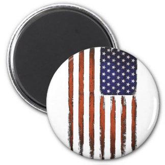 Imã Edição do Grunge da bandeira americana