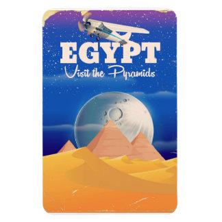 Ímã Egipto - visite o poster das viagens vintage das