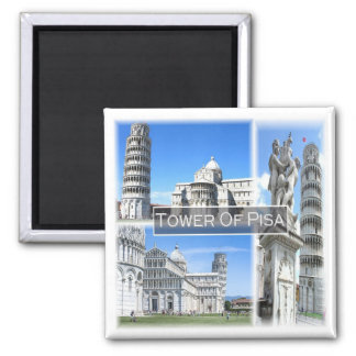 Imã ELE * Italia - a torre inclinada de Pisa