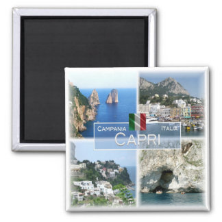 Imã ELE - Italia # Campania - Capri -