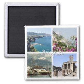 Imã ELE * Italia - Nápoles Sorrento Pompeia Amalfi