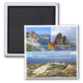 Imã ELE Italia # Sicília - golfo de Castellammare -