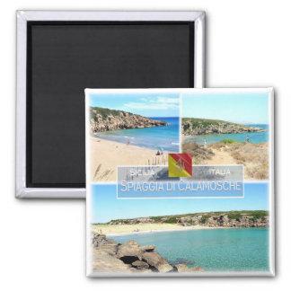 Imã ELE Italia # Sicília - praia de Calamosche -