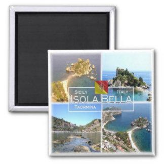 Imã ELE Italia # - Sicília - Taormina - Isola Bella -