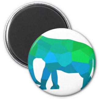 Imã Elefante 1 do mosaico