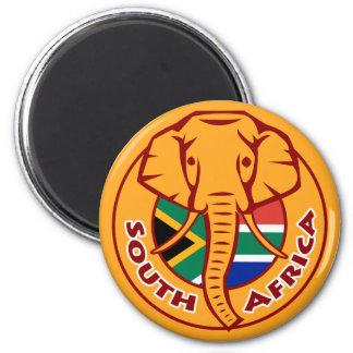 Imã Elefante da bandeira de África do Sul