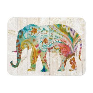 Ímã Elefante de Boho Paisley II