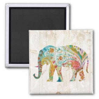 Imã Elefante de Boho Paisley II
