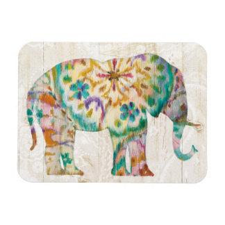 Ímã Elefante de Boho Paisley mim