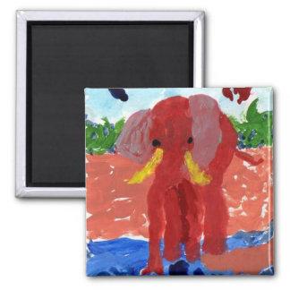 Imã Elefante pelo ímã do rio