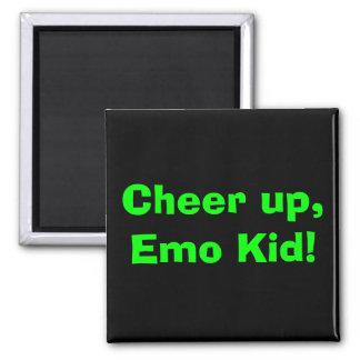 Imã Elogio acima, miúdo de Emo!