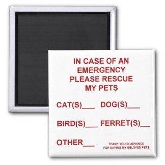 Imã Em caso de um ímã da emergência (animal de