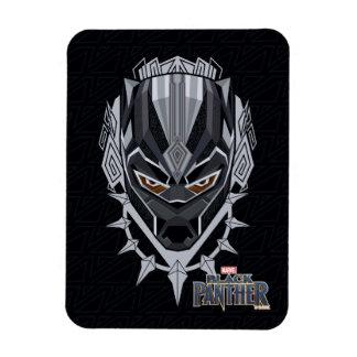 Ímã Emblema da cabeça da pantera preta de pantera