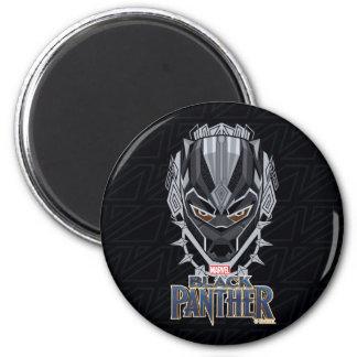 Imã Emblema da cabeça da pantera preta de pantera