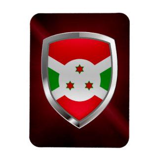 Ímã Emblema de Burundi Mettalic
