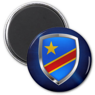 Imã Emblema de Congo Mettalic