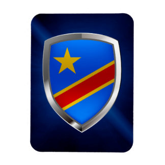 Ímã Emblema de Congo Mettalic