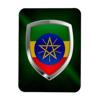 Ímã Emblema de Etiópia Mettalic