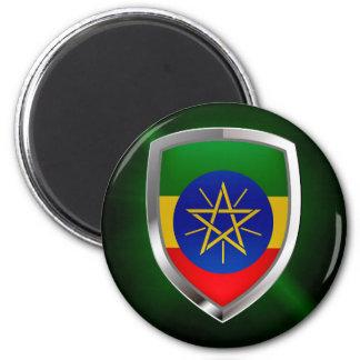 Imã Emblema de Etiópia Mettalic