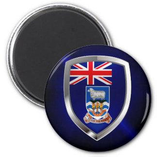 Imã Emblema de Ilhas Falkland Mettalic
